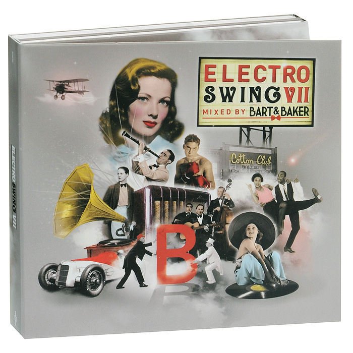 The Eelectric Swing Circus,Jamie Berry,Джуди Джей,Paris Combo,Caro Emerald,Foxy Cheek,Dr Cat,DJ Pony,Electronic Swing Orchestra,Giorgio,The Swing Towers,Луи Армстронг,Сестры Бэрри Electro Swing VII (2 CD) 24vdc swing gate opener control board