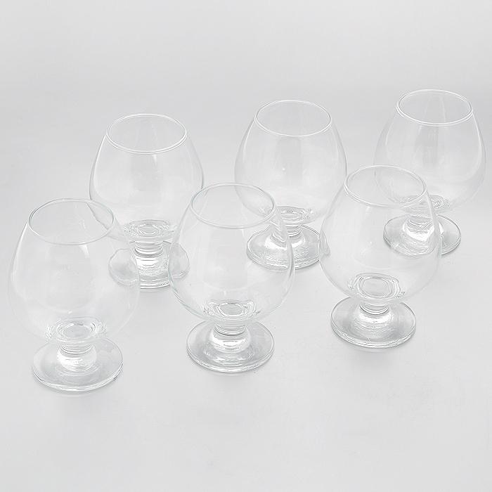 Набор бокалов для коньяка Pasabahce Bistro, 400 мл, 6 шт44188BНабор Pasabahce Bistro состоит из шести бокалов на ножке, изготовленных из прочного натрий-силикатного стекла. Изделия, предназначенные для подачи конька, несомненно придутся вам по душе. Бокалы сочетают в себе элегантный дизайн и функциональность. Благодаря такому набору пить напитки будет еще вкуснее. Набор бокалов Pasabahce Bistro идеально подойдет для сервировки стола и станет отличным подарком к любому празднику.Можно мыть в посудомоечной машине.