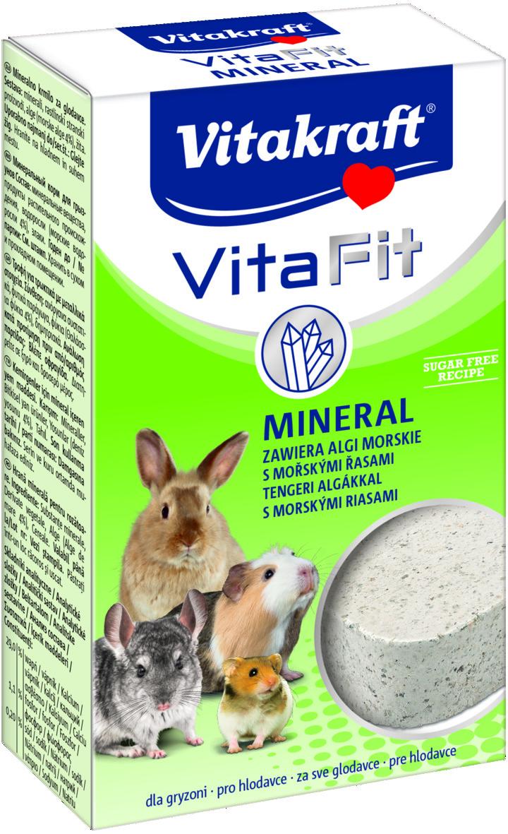 Камень для грызунов Vitakraft Mineral, 170 г камень для грызунов vitakraft mineral 170 г