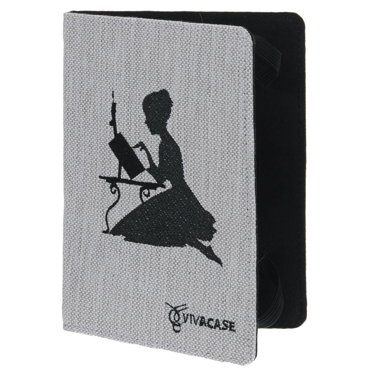Vivacase Girl чехол для планшетов и e-book 6, White (VUC-CGR01-w)VUC-CGR01-wЧехол Viva Girl для планшетов и e-book 6 предназначен для защиты электронных устройств от механических повреждений и влаги.Крепление EVS позволяет надежно зафиксировать устройство.