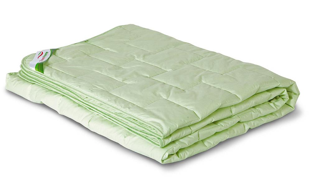 Одеяло всесезонное OL-Tex Бамбук, наполнитель: бамбуковое волокно, цвет: фисташковый, 110 х 140 смОБТ-11-3Одеяло OL-Tex Бамбук подарит вам ни с чем несравнимую мягкость и комфорт. Теплое, легкое, гипоаллергенное одеяло из коллекции Бамбук создано с использованием натурального и экологически чистого бамбукового волокна. Чехол одеяла фисташкового цвета выполнен из тика, оформлен фигурной стежкой и окантован по краю. Натуральная, экологически чистая основа бамбукового волокна обладает природными антибактериальными и дезодорирующими свойствами, останавливает рост и развитие бактерий, препятствует появлению неприятных запахов. Эти качества сохраняются даже после многократных стирок. Идеально подходит людям, страдающим аллергией и астмой. Основные свойства бамбукового наполнителя: - отличная воздухопроницаемость и впитывающие свойства, - дезодорирующие и бактерицидные свойства, - гигиеничность и гипоаллергенность. Одеяло всесезонное: оно прекрасно согреет зимой, а летом спать под ним будет не жарко. Подарите себе здоровый сон с бамбуковым одеялом! Рекомендации по уходу:- Ручная и машинная стирка при температуре 30°С.- Не гладить.- Не отбеливать. - Нельзя отжимать и сушить в стиральной машине. - Вертикальная сушка. Размер одеяла: 110 см х 140 см. Материал чехла: тик (100% хлопок). Материал наполнителя: бамбуковое волокно/микроволокно OL-Tex (100% полиэстер). Плотность: 300 г/м2.
