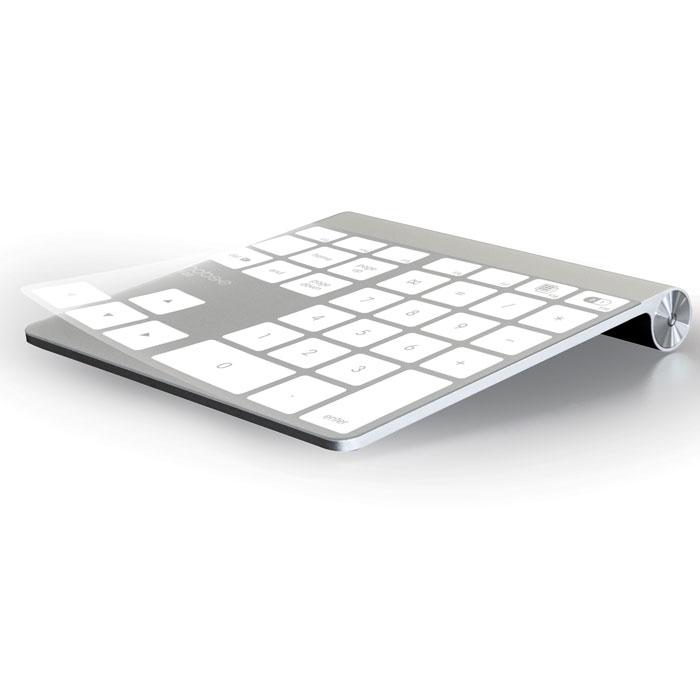 Mobee Magic Numpad набор из 3 пленок для Apple TrackpadMO6210Mobee Magic Numpad - набор из 3х специальных пленок для Apple Magic Trackpad, которые наклеиваются поверхего рабочей поверхности. Существуют разнообразные раскладки цифрового блока пленок Mobee MagicNumpad: классическая (сугубо цифровая со свободной областью под сенсорный ввода) и 2 расширенных сдополнительными настраиваемыми «клавишами». Вместе с комплектом Mobee Magic Numpad поставляется специальное приложение, превращающее ваши прикосновения к трекпаду в команды, соответствующие раскладке выбранной пленки.