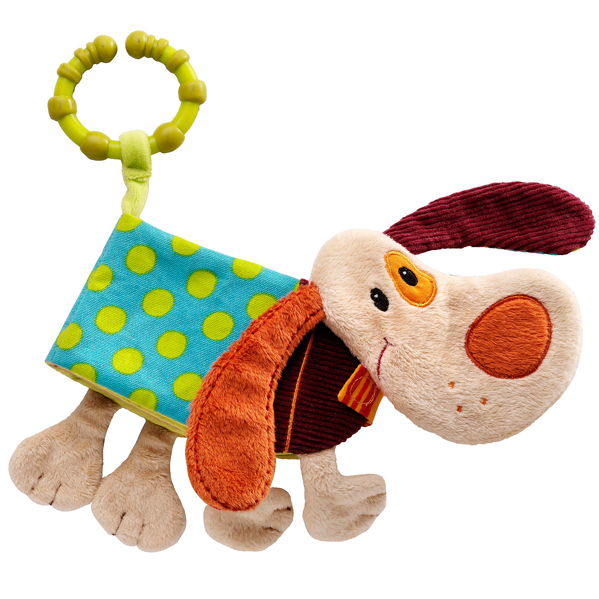 Lilliputiens Книжка-игрушка Собачка Джеф цены онлайн