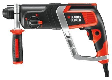 Black&Decker KD990KAKD990KAДомашний помощникПроизводитель ручного инструмента Black and Decker создал модель KD990KA для использования как в быту, так и на производстве. Перфоратор предназначен для создания отверстий в металле, в дереве и других твердых материалах. В режиме «сверление с ударом» или «долбление» инструмент способен продолбить отверстие в бетоне, кирпиче, керамике.Отличная производительностьПри относительно не сложных видах работ, а также при эксплуатации инструмента на высоте вам необходим сравнительно легкий и производительный перфоратор. Именно таким является KD990KA от производителя Black and Decker. Модель имеет функцию удара с энергией 2.4 Дж, частотой 5180 уд/мин., что делает его отличным «убийцей» бетона и кирпича.Долбить или сверлитьСамым популярным режимом большинства перфораторов является режим «сверления с ударом», при котором рабочая оснастка получает одновременно оборотные и поступательные движения, таким образом делая отверстие в твердых материалах. В режиме удара («долбление») оборотные движения рабочего элемента отсутствуют, остаются только ударные, и наш перфоратор превращается в отбойный молоток, способный разрушать кирпич, камень и монолитные стены.SDS-патронУниверсальный патрон SDS-Plus позволяет закрепить зубило (и другие насадки) в разных положениях и обеспечивает удобную работу в труднодоступных местах.Диаметры сверленияДля надежной долговечной работы инструмента всегда необходимо знать максимальные рекомендуемые диаметры сверления определенных типов материалов, для KD990KA это: по дереву – 30 мм, по металлу – 13 мм, по бетону (кирпичу) – 26 мм.Полезные мелочиВ Black and Decker KD990KA предусмотрен ряд дополнительных конструктивных решений для более удобной эксплуатации: ограничитель глубины, дополнительная рукоятка, реверс, регулировка частоты вращения, блокировка кнопки включения.