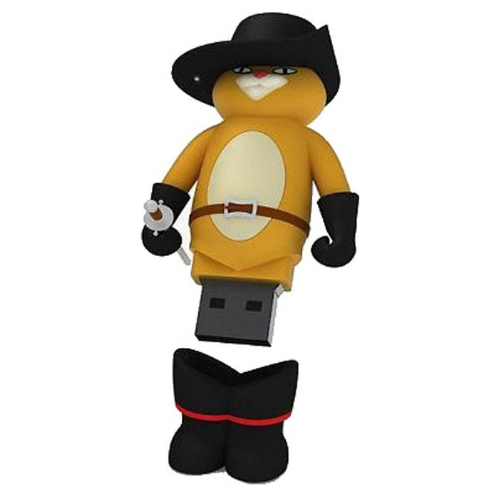 Iconik Кот в сапогах 8GB USB-накопительRB-PUSS-8GBФлеш-накопитель Iconik Кот в сапогах имеет весьма нестандартный дизайн. Накопитель ударопрочный и защищен резиновым корпусом, а высокая пропускная способность и поддержка различных операционных систем делают его незаменимым. Iconik Кот в сапогах - отличный выбор современного творческого человека, который любит яркие и нестандартные вещи.