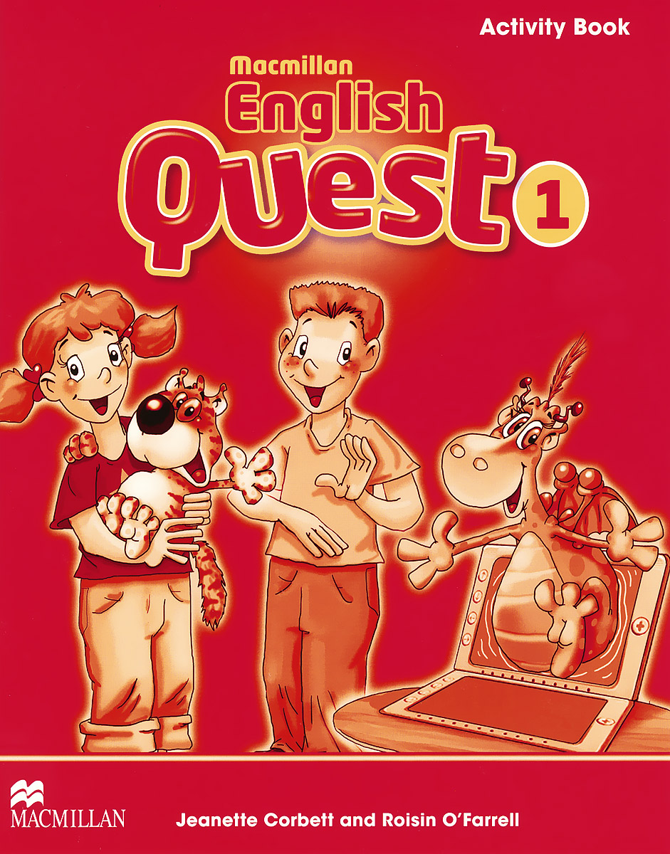 Macmillan English Quest 1: Activity Book driscoll l cambridge english skills real reading 3 with answers