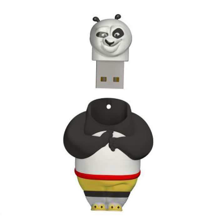 Iconik Панда Кунг-Фу 32GB USB-накопитель iconik футбол 32gb blue white usb накопитель