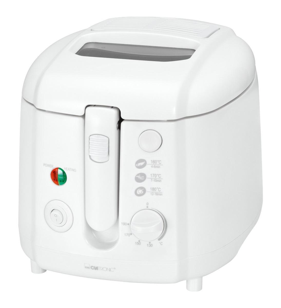 Clatronic FR 3390, White фритюрница FR 3390 weis