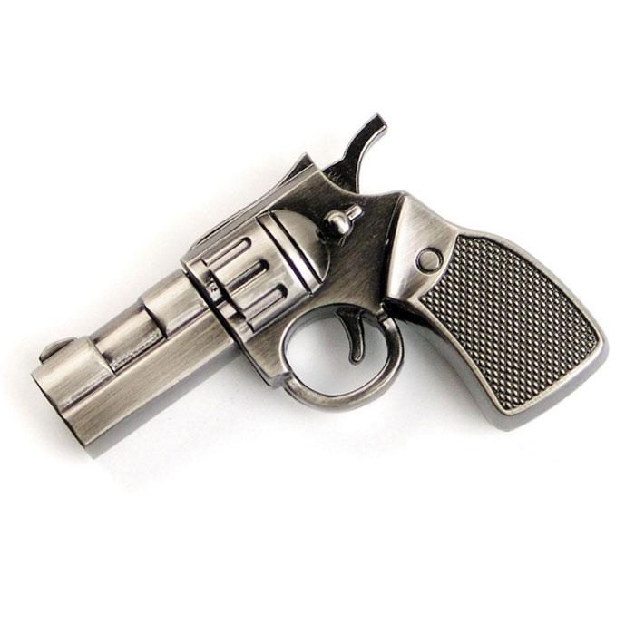 Iconik Револьвер 16GB USB-накопительMT-COLT-16GBФлеш-накопитель Iconik Револьвер имеет весьма нестандартный дизайн. Накопитель ударопрочный и защищен металлическим корпусом, а высокая пропускная способность и поддержка различных операционных систем делают его незаменимым. Iconik Револьвер - отличный выбор современного творческого человека, который любит яркие и нестандартные вещи.