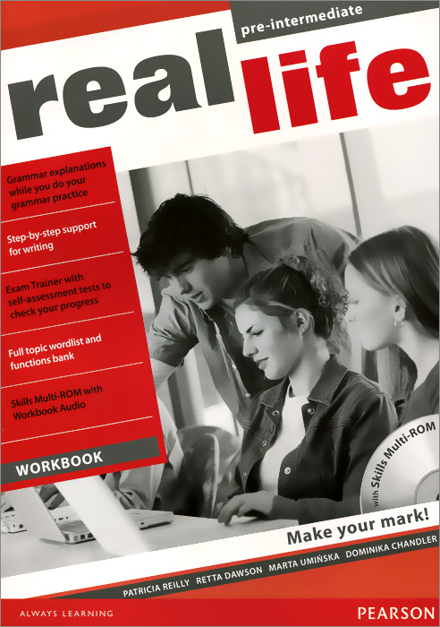 Real Life Pre-Intermediate Workbook (+ аудиокурс на CD-ROM) total english intermediate workbook cd rom