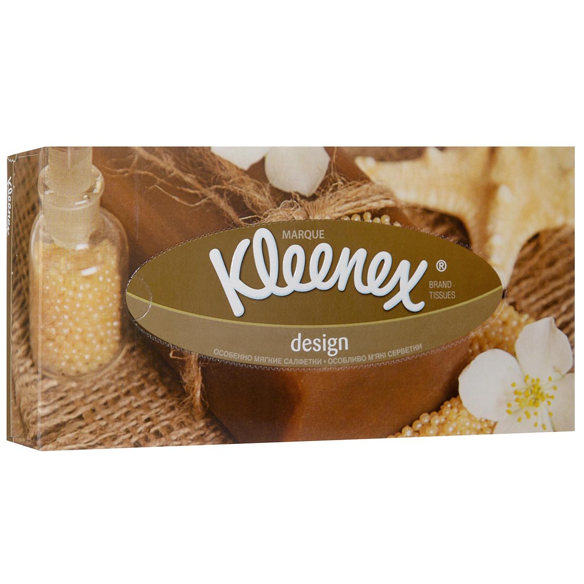 Салфетки универсальные Kleenex Design, двухслойные, 70 шт26083177Серия салфеток Kleenex Design объединяет коробки 3-х дизайнов, которые не только поднимают настроение, но и идеально вписываются в интерьер каждой комнаты.