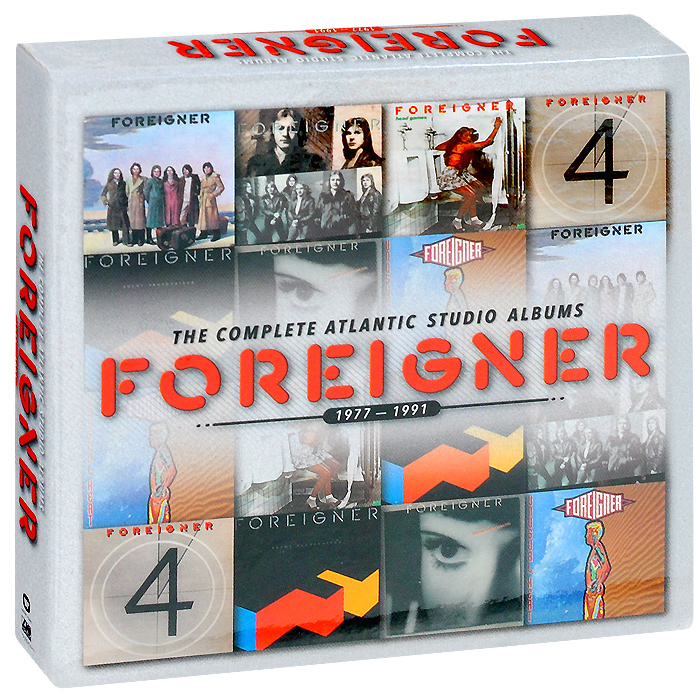 Foreigner Foreigner. The Complete Atlantic Studio Albums. 1977-1991 (7 CD) roxy music roxy music the complete studio albums 8 lp box
