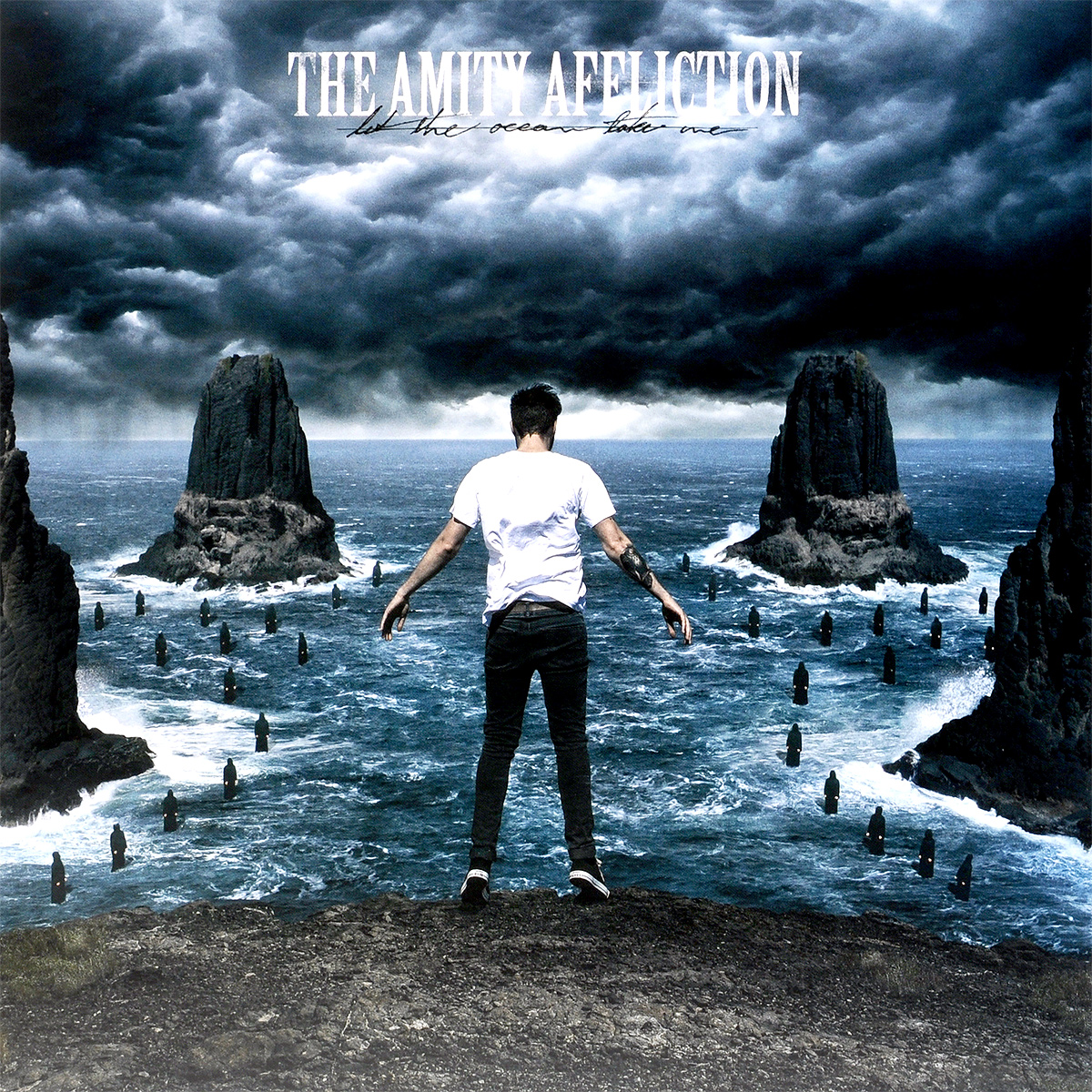 The Amity Affliction The Amity Affliction. Let The Ocean Take Me (LP)
