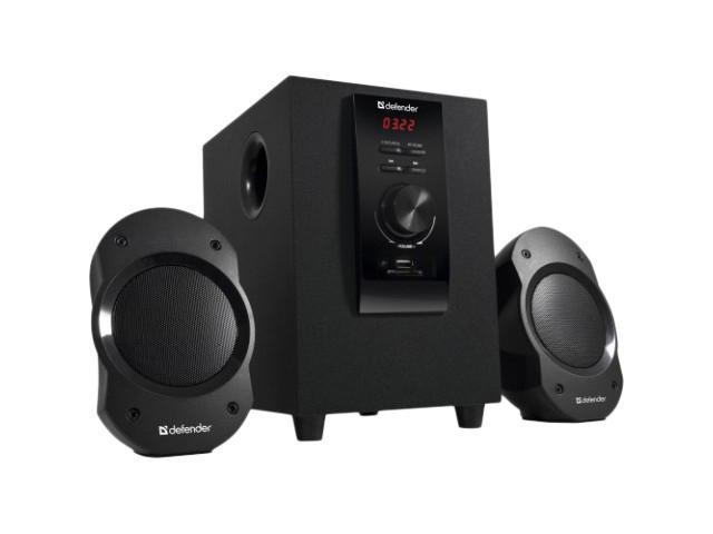 Defender Sirocco S10 PRO активная АС 2.1 акустическая система defender 2 1 sirocco x65 pro 35w 2 15w пульт ду usb sd 65157