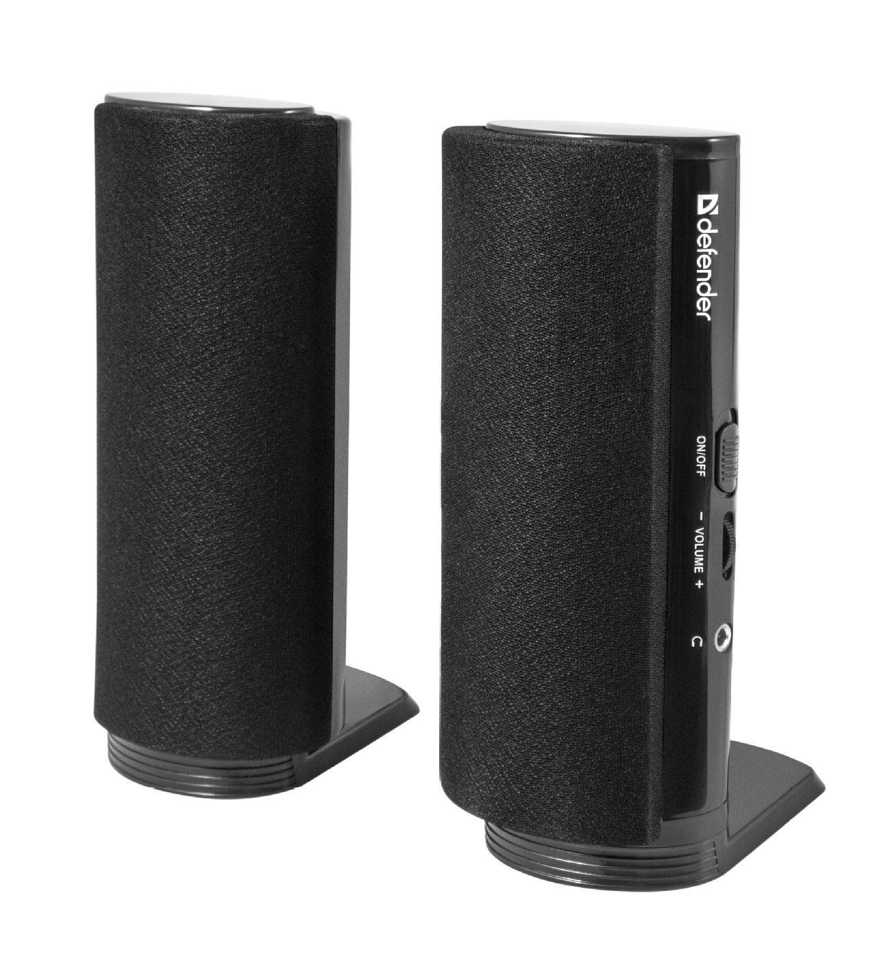 Defender SPK-210 акустическая система 2.0 акустическая система 2 0 spk 22 black 65503 defender