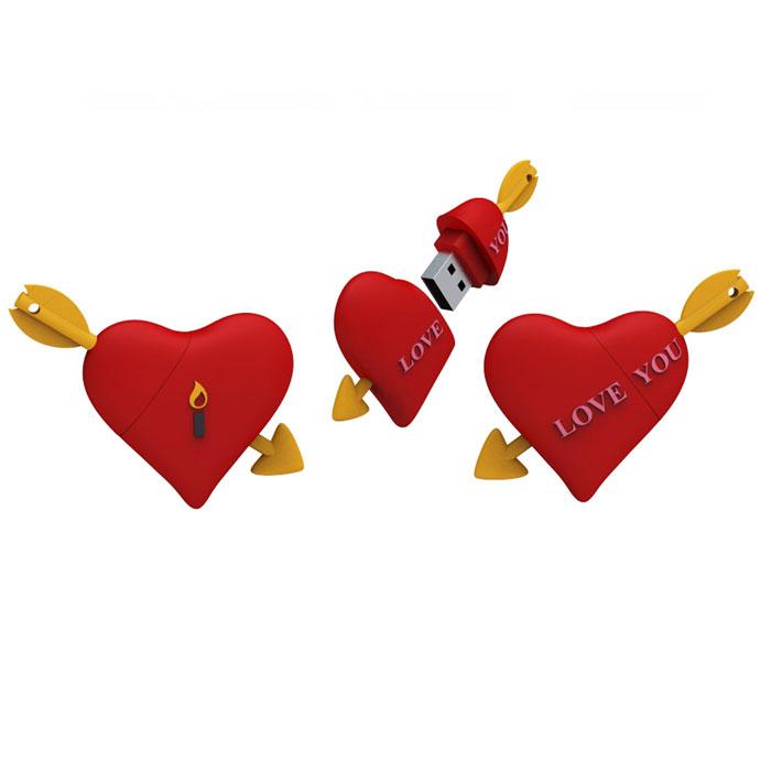 Iconik Сердце 8GB USB-накопитель - Носители информации