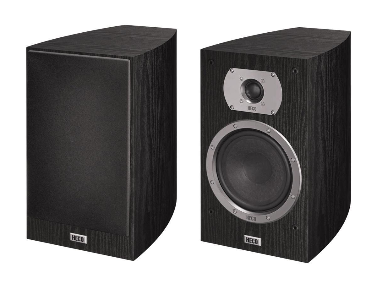 HECO Victa Prime 302, Black полочная АС (2 шт.) полочная акустика heco atmos 200 white