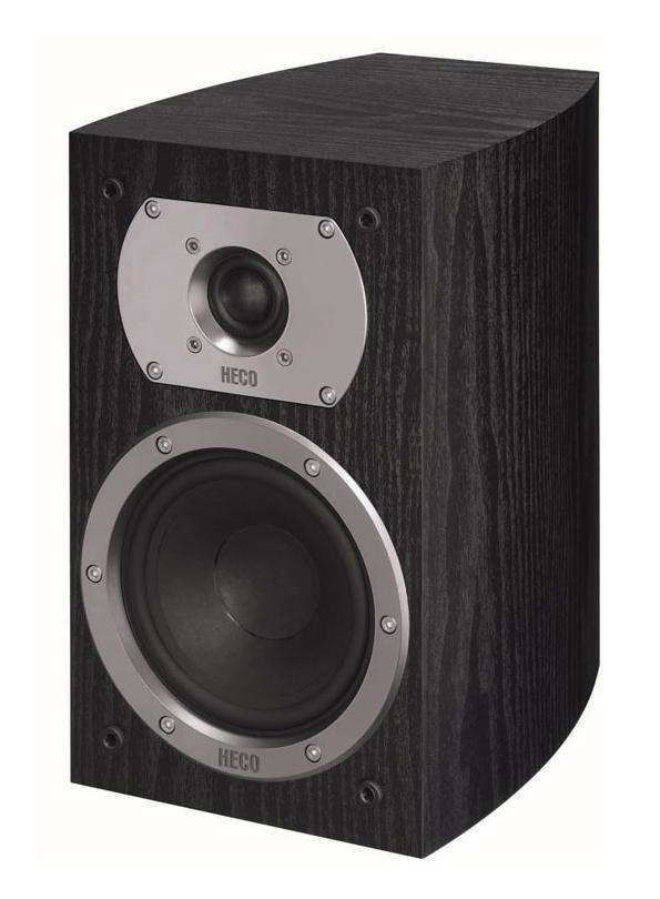 HECO Victa Prime 202, Black полочная АС полочная акустика heco atmos 200 white