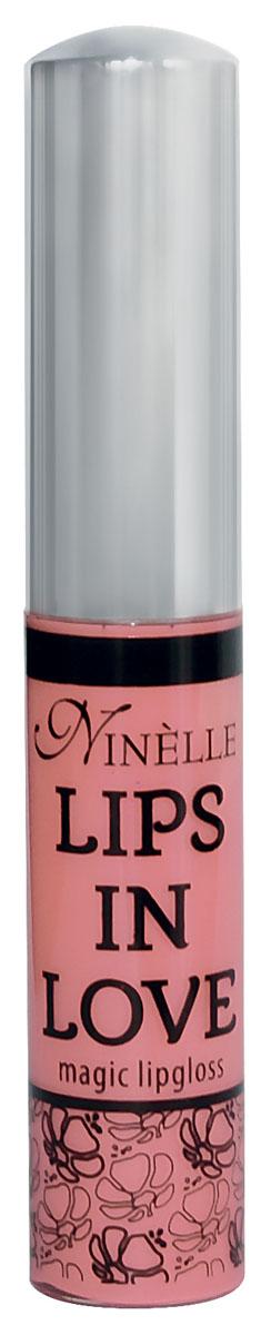 Ninelle Блеск для губ Lips in Love, тон №22, 10 мл757N10466Блеск для губ Lips in Love придает губам дополнительный объем и насыщенный цвет.Гипоаллергенный.Товар сертифицирован.