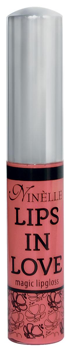 Ninelle Блеск для губ Lips in Love, тон №26, 10 мл761N10470Блеск для губ Lips in Love придает губам дополнительный объем и насыщенный цвет.Гипоаллергенный.Товар сертифицирован.