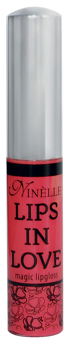 Ninelle Блеск для губ Lips in Love, тон № 29, 10 мл764N10473Блеск для губ Lips in Love придает губам дополнительный объем и насыщенный цвет.Гипоаллергенный.Товар сертифицирован.