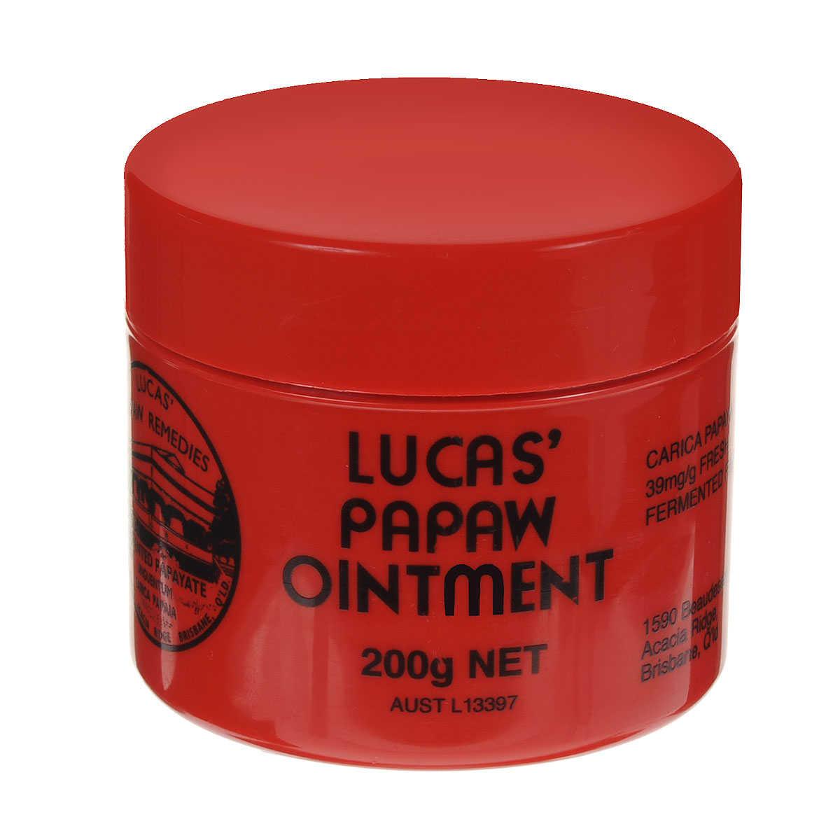 Lucas Papaw Бальзам для губ Ointment, 200 г sumifun 100% original 19 4g red white tiger balm ointment thailand painkiller ointment muscle pain relief ointment soothe itch