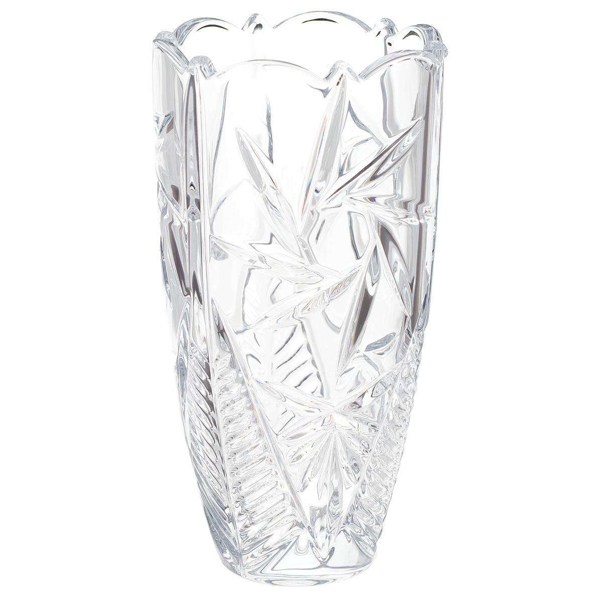 Ваза Crystalite Bohemia Пинвил, высота 20 см89002/0/99030/200Изящная ваза Crystalite Bohemia Пинвил изготовлена из прочного утолщенного стекла кристалайт. Она красиво переливается и излучает приятный блеск. Ваза оснащена рельефной, многогранной поверхностью, неровными краями и напоминает полураскрывшийся цветочный бутон, что делает ее изящным украшением интерьера. Ваза Crystalite Bohemia Пинвил дополнит интерьер офиса или дома и станет желанным и стильным подарком.