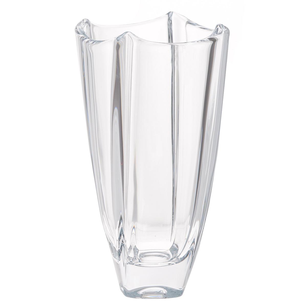 Ваза Crystalite Bohemia Колосеум, высота 25,5 см8KF79/0/99R14/255Изящная ваза Crystalite Bohemia Колосеум изготовлена из прочного утолщенного стекла кристалайт. Она красиво переливается и излучает приятный блеск. Ваза оснащена рельефной поверхностью и неровными краями, что делает ее изящным украшением интерьера. Ваза Crystalite Bohemia Колосеум дополнит интерьер офиса или дома и станет желанным и стильным подарком.