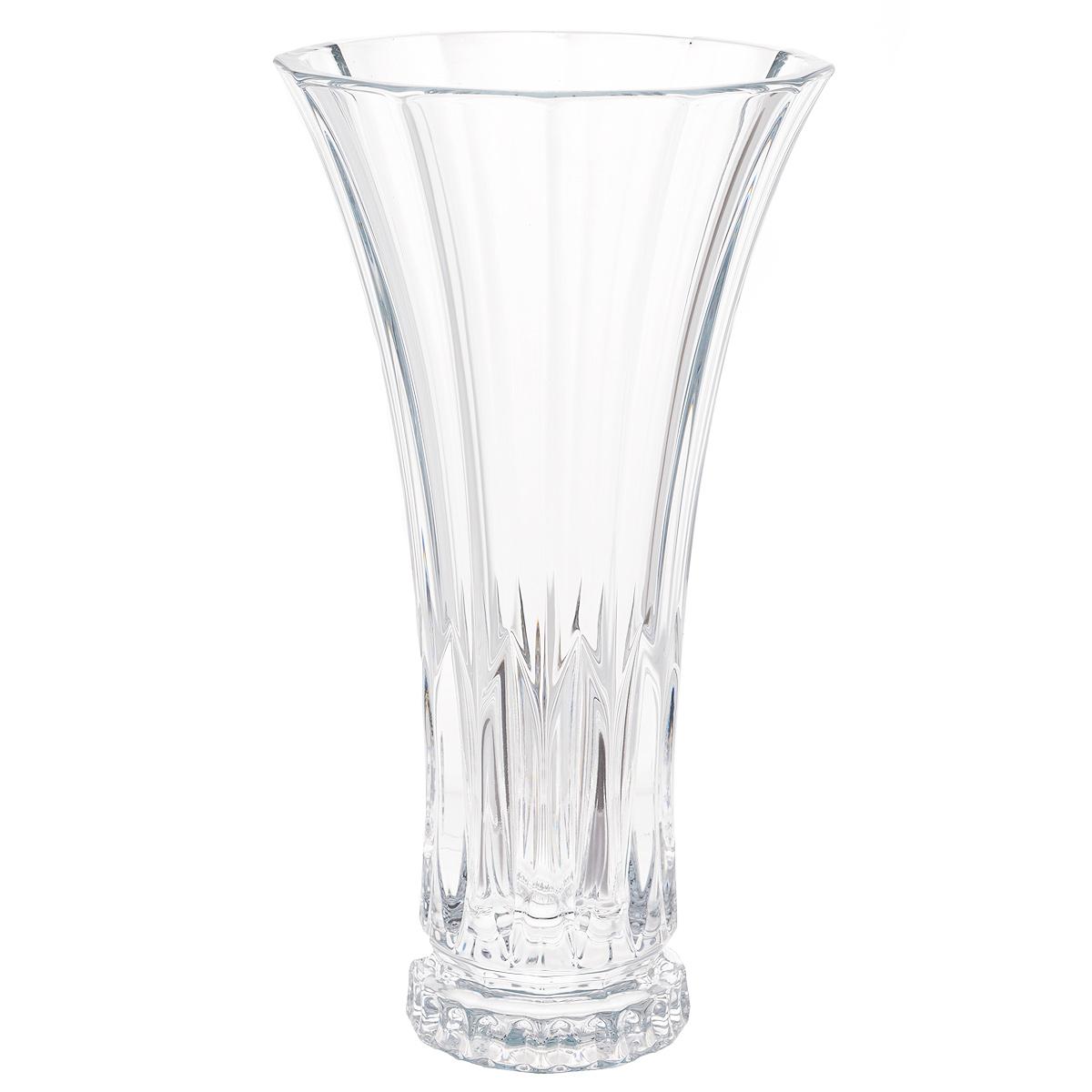 Ваза Crystalite Bohemia Веллингтон, высота 28 см8KG08/0/99S37/305Изящная ваза Crystalite Bohemia Веллингтон изготовлена из прочного утолщенного стекла кристалайт. Она красиво переливается и излучает приятный блеск. Ваза оснащена многогранной рельефной поверхностью, что делает ее изящным украшением интерьера. Ваза Crystalite Bohemia Веллингтон дополнит интерьер офиса или дома и станет желанным и стильным подарком.