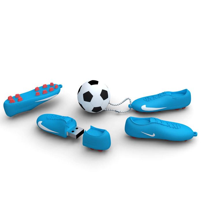 Iconik Футбол 32GB, Blue White USB-накопитель - Носители информации