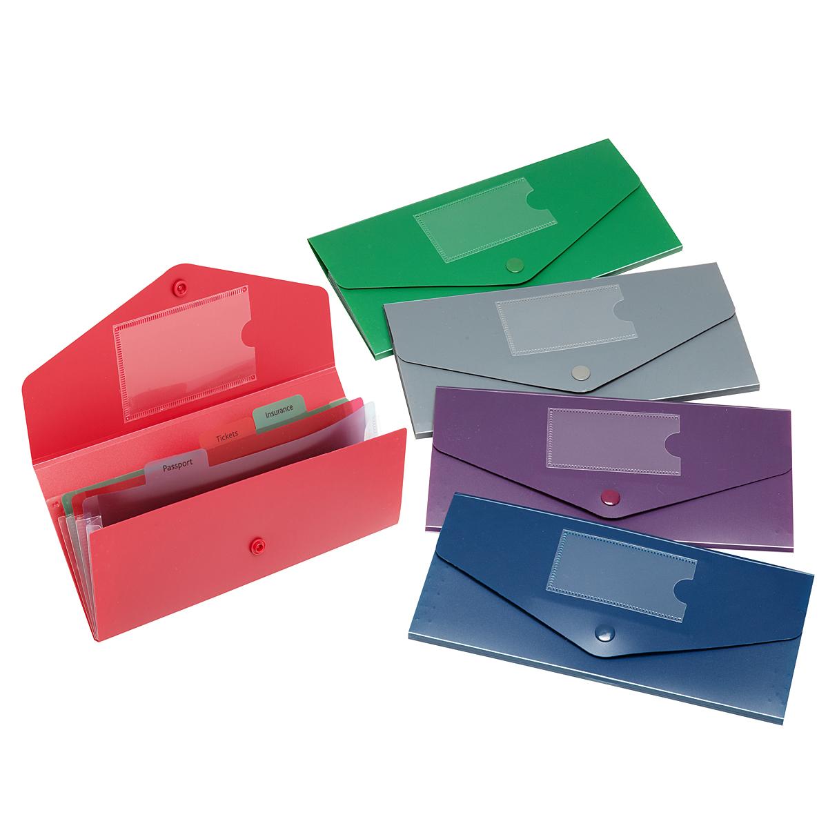 Папка-конверт на кнопке Snopake Fusion DL Travel Holder, цвет: синийK15699Папка-конверт на кнопке Snopake Fusion DL Travel Holder - это удобный и функциональный офисный инструмент, предназначенный для хранения и транспортировки документов.Папка изготовлена из износостойкого полипропилена с рельефной текстурой, закрывается клапаном на кнопку.Содержит три отделения: для паспорта, билетов и страхового полиса. На внутренней стороне клапана находится карман для кредитной карточки, на внешней - для визитной.Папка-конверт - идеальный вариант для путешествий. Такая папка надежно сохранит ваши документы и сбережет их от повреждений, пыли и влаги. Она сочетает в себе классический дизайн и неизменно высокое качество Snopake.