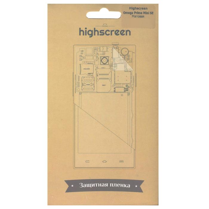 Highscreen защитная пленка для Omega Prime mini SE21516Highscreen защитная пленка для Omega Prime mini SE. Надежно защищает экран Вашего смартфона от пятен и царапин, легко меняется, не оставляет следов.