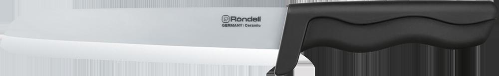 "Нож поварской Rondell ""Glanz White"", цвет: белый, длина лезвия 15 см. RD-467"