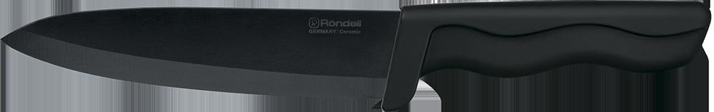 Нож универсальный Rondell Glanz Black, цвет: черный, длина лезвия 15 см. RD-466RD-466Нож универсальный Rondell Glanz Black изготовлен из циркониевой керамики. Удобная рукоятка ножа из прорезиненного ABS пластика, не позволит выскользнуть ему из руки. Керамический нож идеально подходит для нарезки мягких продуктов: овощей, фруктов, хлебобулочных изделий, сыра, мяса, рыбы. Продукты не прилипают к лезвию и не крошатся. Нож Glanz Black займет достойное место среди аксессуаров на вашей кухне.Нож не предназначен для нарезки: замороженного или содержащего кости мяса, твердых сортов сыра, а также для использования на твердых разделочных поверхностях (например, стекло). Избегайте ударов о твердые поверхности, падений и соприкосновения с металлическими предметами во время хранения ножа. Можно мыть в посудомоечной машине.Общая длина ножа: 28 см. Ширина лезвия: 3,5 см.