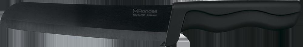 Нож поварской Rondell Glanz Black, цвет: черный, длина лезвия 15 см. RD-465RD-465Нож поварской Rondell Glanz Black изготовлен из циркониевой керамики. Удобная рукоятка ножа из прорезиненного ABS пластика, не позволит выскользнуть ему из руки. Керамический нож идеально подходит для нарезки мягких продуктов: овощей, фруктов, хлебобулочных изделий, сыра, мяса, рыбы. Продукты не прилипают к лезвию и не крошатся. Нож Glanz Black займет достойное место среди аксессуаров на вашей кухне.Нож не предназначен для нарезки: замороженного или содержащего кости мяса, твердых сортов сыра, а также для использования на твердых разделочных поверхностях (например, стекло). Избегайте ударов о твердые поверхности, падений и соприкосновения с металлическими предметами во время хранения ножа. Можно мыть в посудомоечной машине.Общая длина ножа: 28 см. Ширина лезвия: 3 см.