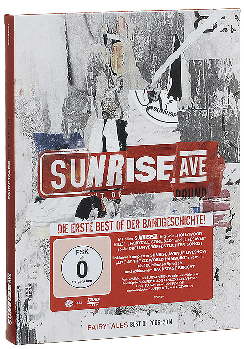Sunrise Avenue Sunrise Avenue. Fairytales Best Of 2006-2014 (CD + DVD) 3 color digital hd 7 car headrest lcd monitor hanging dvd player with fm usb sd 32 bit game universal digital screen zipper ca
