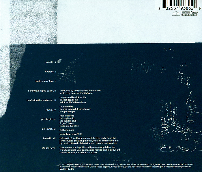 Underworld.  Second Toughest In The Infants Universal Music Russia,Universal Music Operations Ltd.