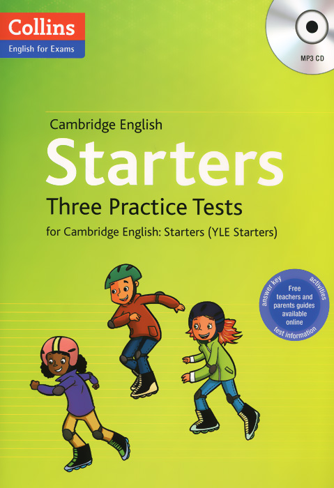 Cambridge English: Starters: Three Practice Tests for Cambridge English: Starters (+ MP3 CD) cambridge learners dictionary english russian paperback with cd rom