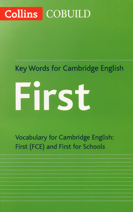 Key Words for Cambridge English First key words for the oil