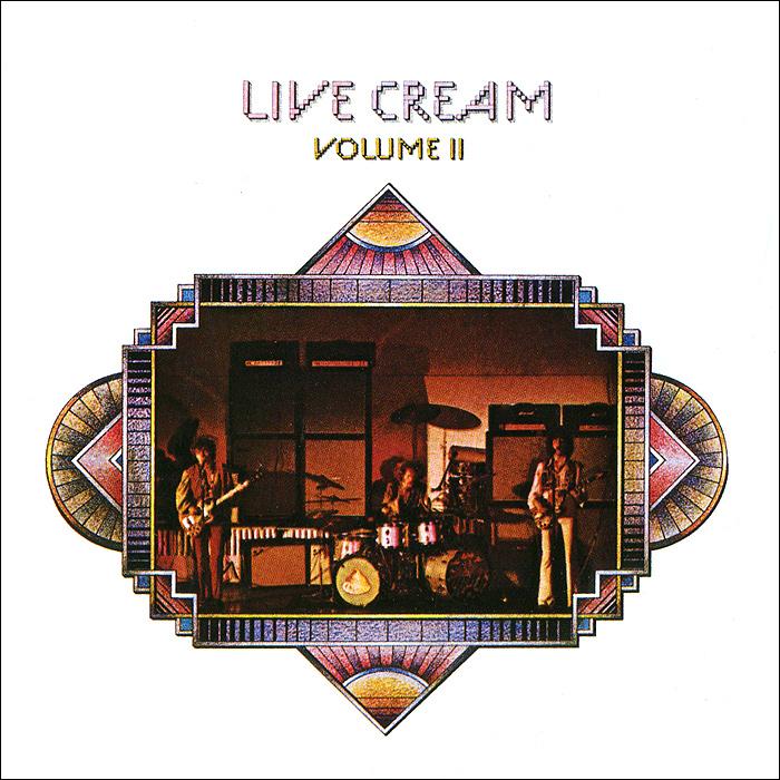Cream Cream. Live Cream. Volume 2 jewelry international volume v