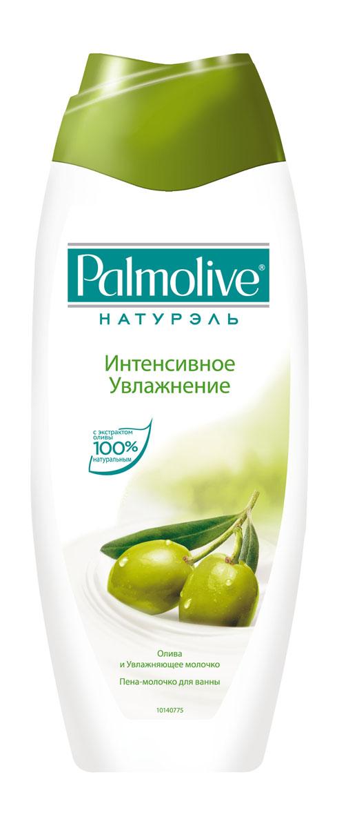 Пена-молочко для ванны Palmolive Интенсивное увлажнение, 500 мл palmolive мыло жидкое интенсивное увлажнение олива и увлажняющее молочко palmolive 300 мл