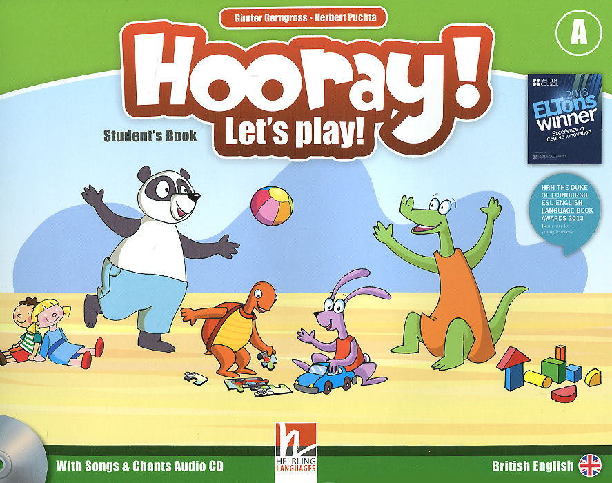 Hooray! Let's Play! Level A: Student's Book (+ CD) stories for 3 year olds
