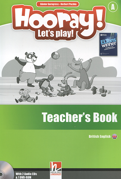 Hooray! Let's Play! Level A: Teacher's Book (+ аудиокурс на 2 CD) hooray let s play b card sets flashcards story cards