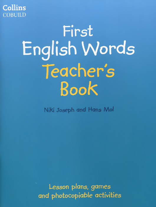 First English Words: Teacher's Book my first abc sticker activity book