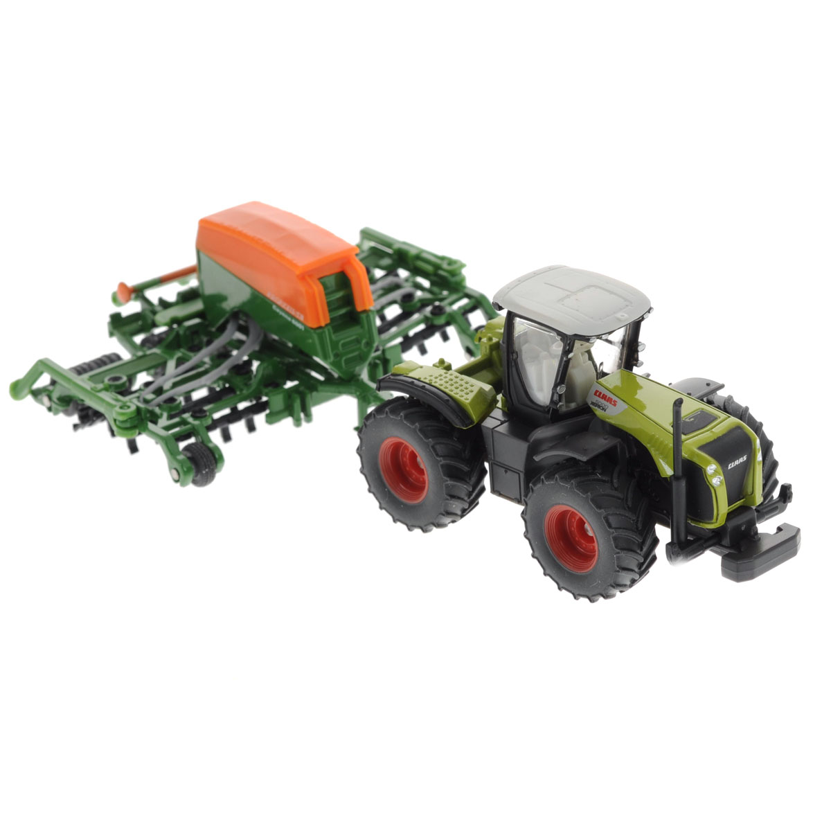 Siku Трактор Claas Xerion с сеялкой Amazone Cayenna 6001