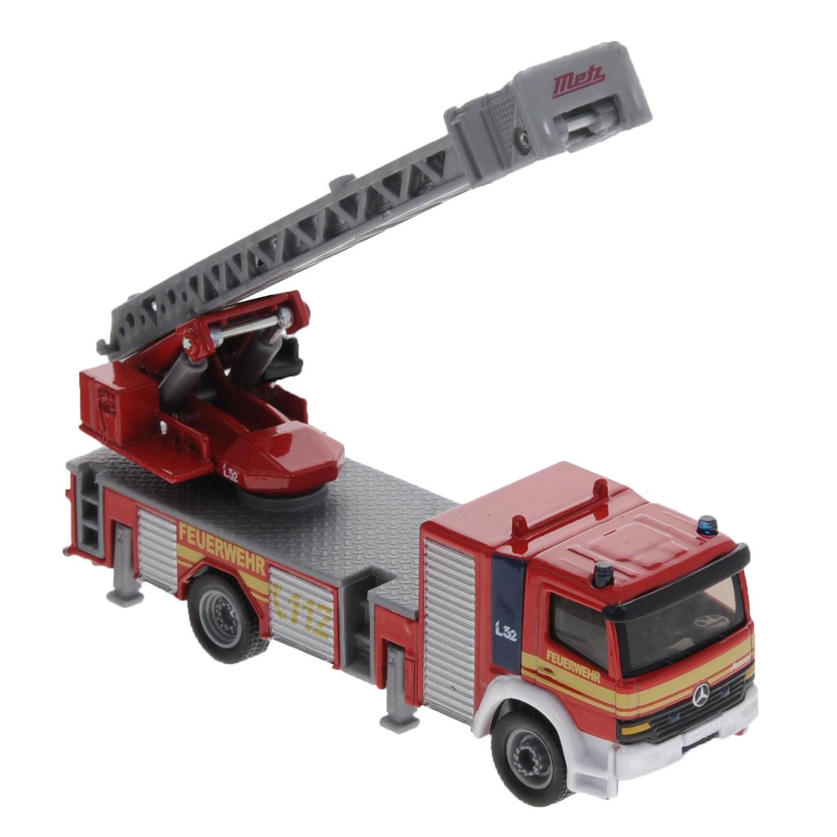 Siku Пожарная машина с лестницей машинки siku пожарная машина с лестницей