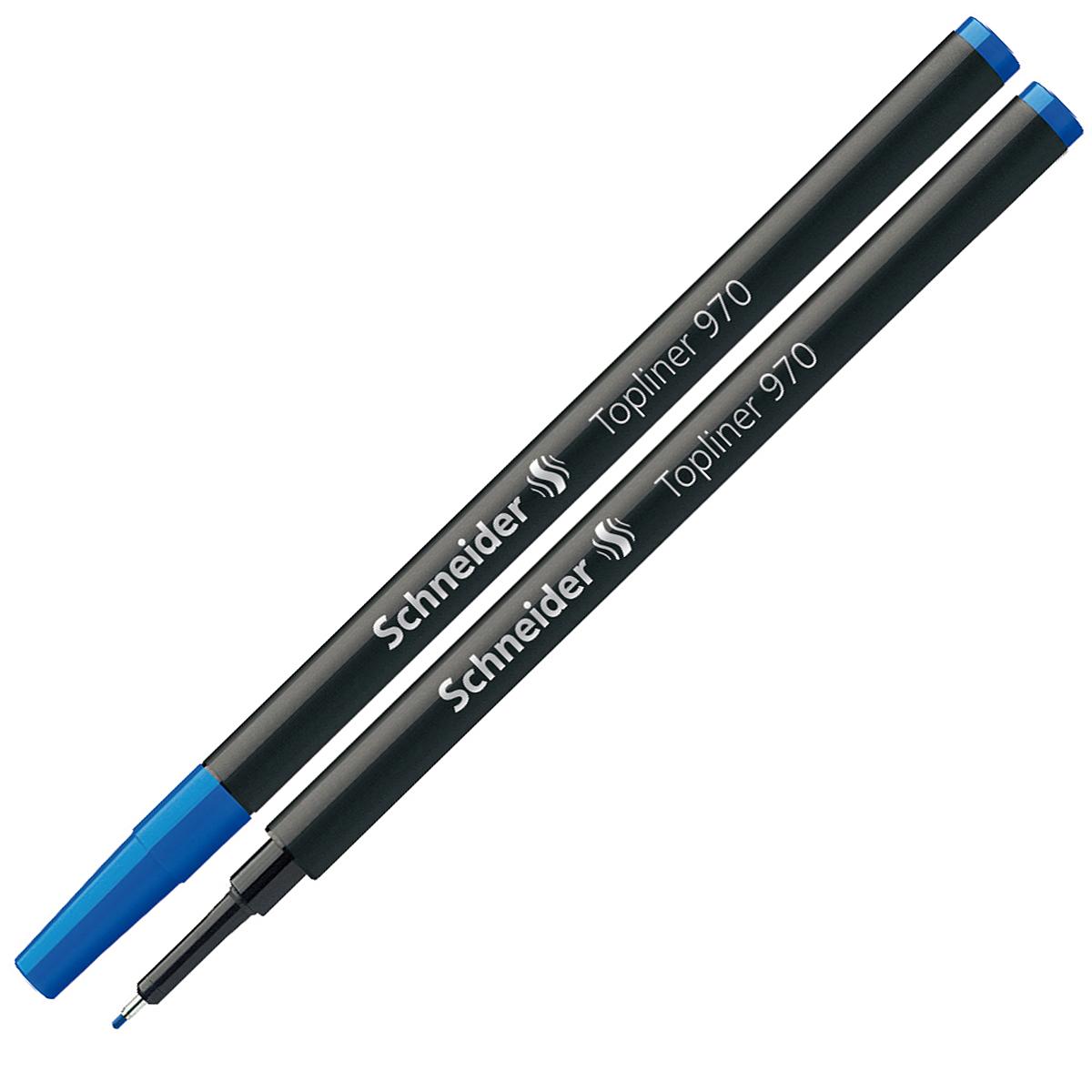 Стержень Schneider, капиллярный, цвет: синий. S970S970/3 S970-01/3Капиллярный стержень евро-формата Schneider предназначен для линеров. Металлический трубчатый наконечник для особо четкого и тонкого письма, рисования и черчения. Ширина штриха - 0,4 мм. Комплектуется защитным колпачком.Подходит для Topball 811, а также для Xtra Change.В комплекте один стержень.