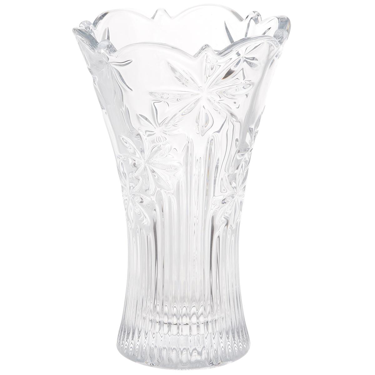 Ваза Crystalite Bohemia Персей, высота 20,5 см89001/0/99004/205SИзящная ваза Crystalite Bohemia Персей изготовлена из прочного утолщенного стекла кристалайт. Она красиво переливается и излучает приятный блеск. Ваза оснащена цветочным рельефным узором и неровными краями, что делает ее изящным украшением интерьера. Ваза Crystalite Bohemia Персей дополнит интерьер офиса или дома и станет желанным и стильным подарком.