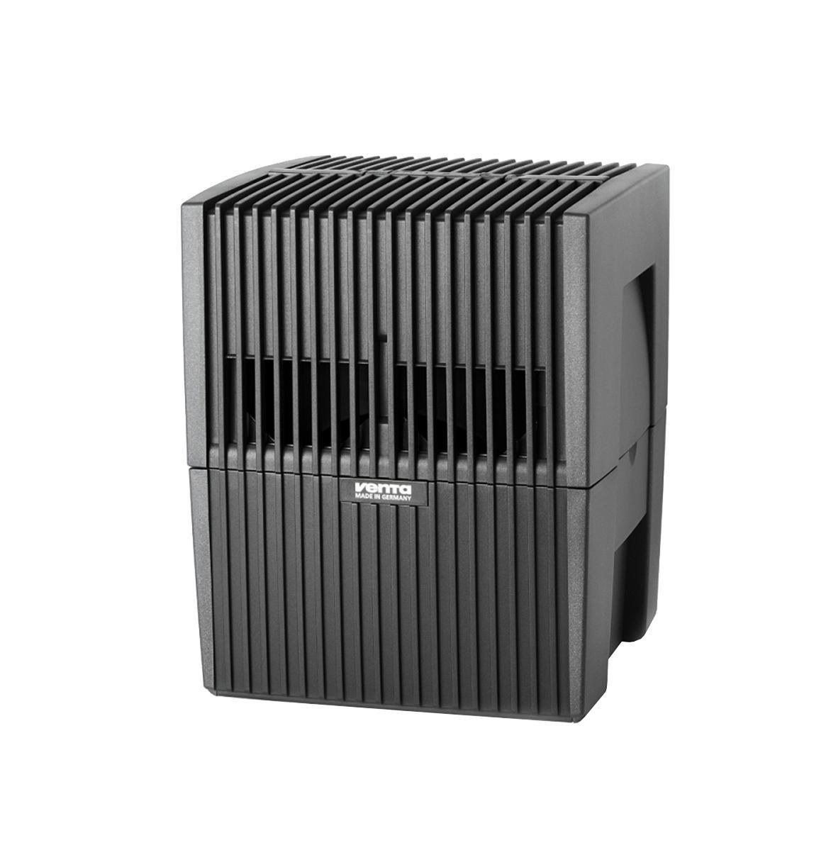 Venta LW 15, Black мойка воздухаLW 15Модель LW 15 - это увлажнитель-очиститель воздуха, который идеально подходит длянебольших помещений: детских комнат, спален, кабинетов.Уникальность данной модели заключается в том, что она очень компактная и может легкоразместиться даже в самом небольшом помещении при этом общая площадь пластинчатогобарабана, на котором промывается воздух, составляет 1,4 м2. Это равноценно тому, чтобыустановить бассейн размером 1,4 х 1 м в комнате площадью до 15-20 м2. Установка компактной модели LW 15 позволит избежать переувлажнения воздуха впомещении с небольшой площадью, что очень вероятно при эксплуатации моек воздухадругих производителей, которые предлагают только одну модель на площадь до 50 м2.Модель LW 15 в белом исполнении чаще всего приобретают для помещений со светлоймебелью и полами (например, паркет из клена, дуба, карельской сосны).В комплект входят 2 флакона гигиенической добавки.