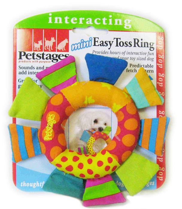 Игрушка для собак Petstages Mini Кольцо, диаметр 9 см150YEXИгрушка Petstages Mini Кольцо для собак мелких пород выполнен из текстиля. Забавная форма игрушки и журчащий звук поддерживает интерес к игре. Идеально подходит для щенков.Диаметр кольца: 9 см.Общий размер игрушки: 14,5 см х 14,5 см х 2 см. Товар сертифицирован.